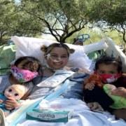 A mãe ficou mais de 100 dias no hospital