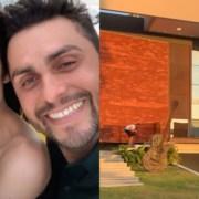 Mano Walter e Débora Silva mostraram o filho no elevador de sua casa
