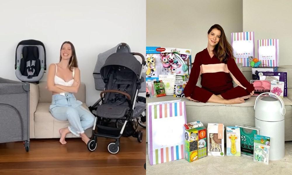 Nathalia Dill e o enxoval de sua bebê