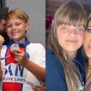 Filho de Neymar brincou no parque de diversão com Rafinha Justus