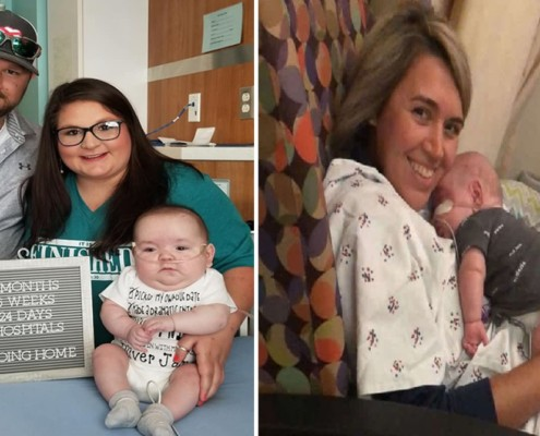 O prematuro nasceu de apenas 25 semanas