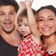 Duda Nagle e Sabrina Sato fizeram festa para sua filha