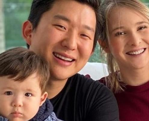 Sammy falou das papinhas veganas de seu filho com Pyong Lee