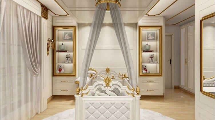 O lindo projeto do quarto da bebê de Simone
