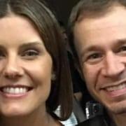 Daiana Garbin e Tiago Leifert mostraram sua filha