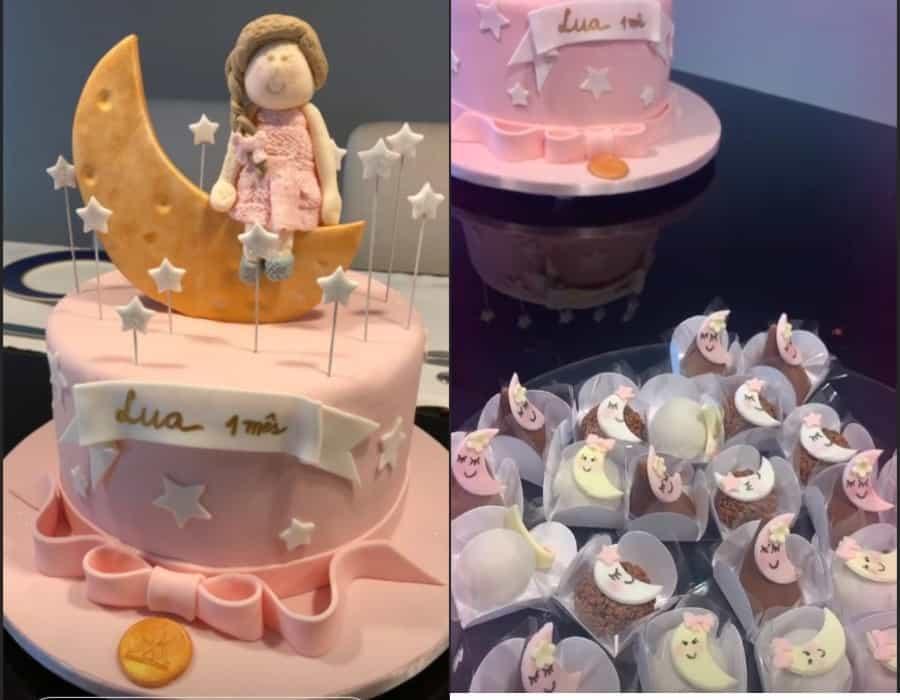 Festa da bebê de Tiago Leifert