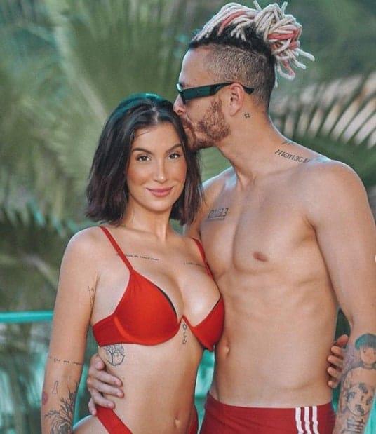 Bianca Andrade, Boca Rosa, está grávida de Fred