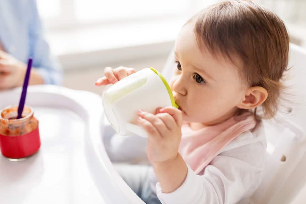 Bebidas de soja não são indicadas para crianças com menos de dois anos de idade