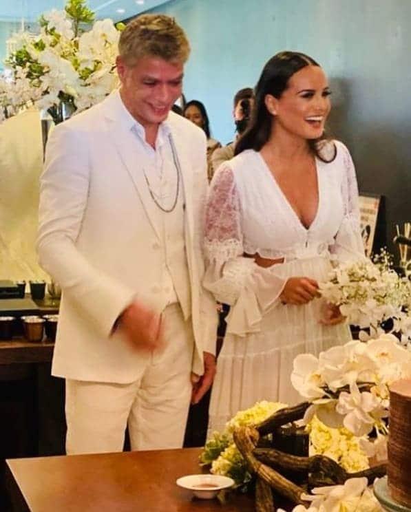 Casamento de Fábio Assunção, ele anunciou que será pai de novo
