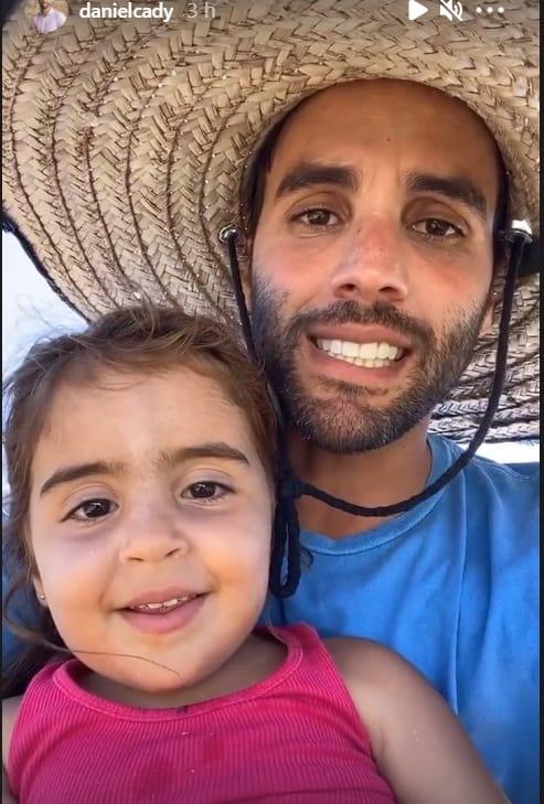 Daniel Cady e sua filha com Ivete Sangalo