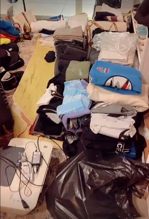 Itens que saíram do quarto do bebê de Lucas Lucco e Lorena Carvalho