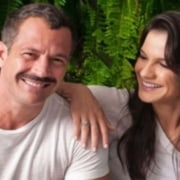 Malvino Salvador e Kyra Gracie esperam o terceiro filho do casal