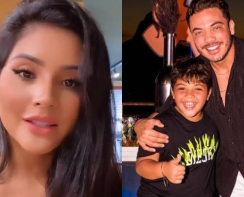 Mileide Mihaile elogiou Wesley Safadão como pai