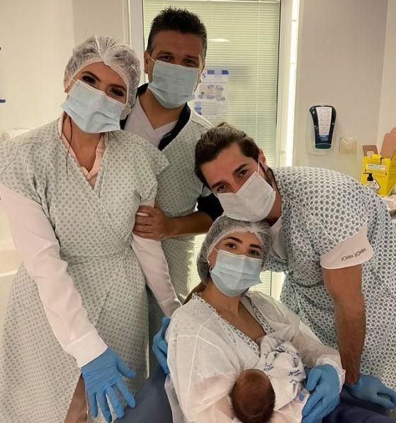 Os médicos Domingos e Erica Mantelli serão padrinhos da filha do Alok e da Romana