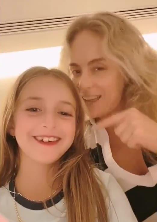 A menina Eva, filha de Angélica e Luciano Huck