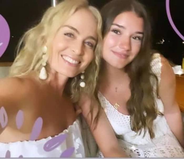 Angélica e a namorada do seu filho mais velho