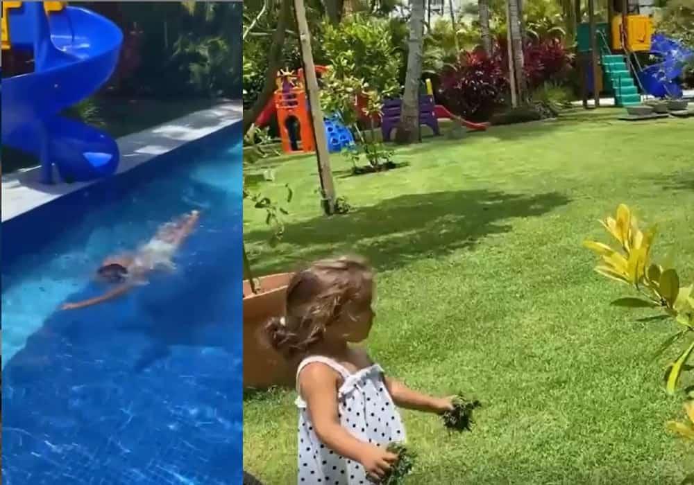Daniel Cady mostrou brinquedão de suas filhas com Ivete Sangalo