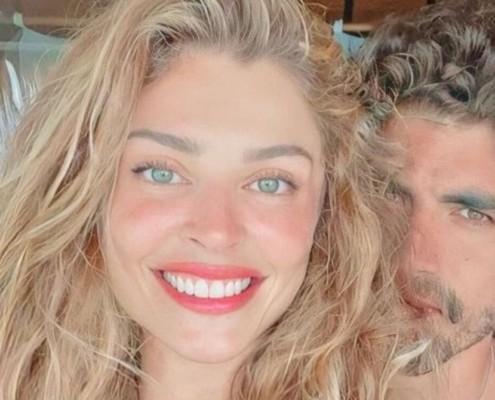 Grazi Massafera mostrou momento com a filha e com Caio Castro