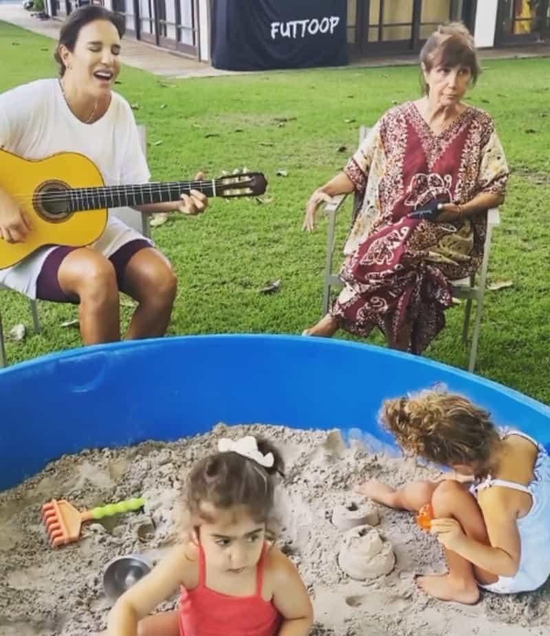 """Ivete Sangalo interpretou """"Um Dia de Domingo"""""""