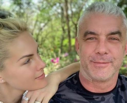 O marido da apresentadora Ana Hickmann luta contra um câncer