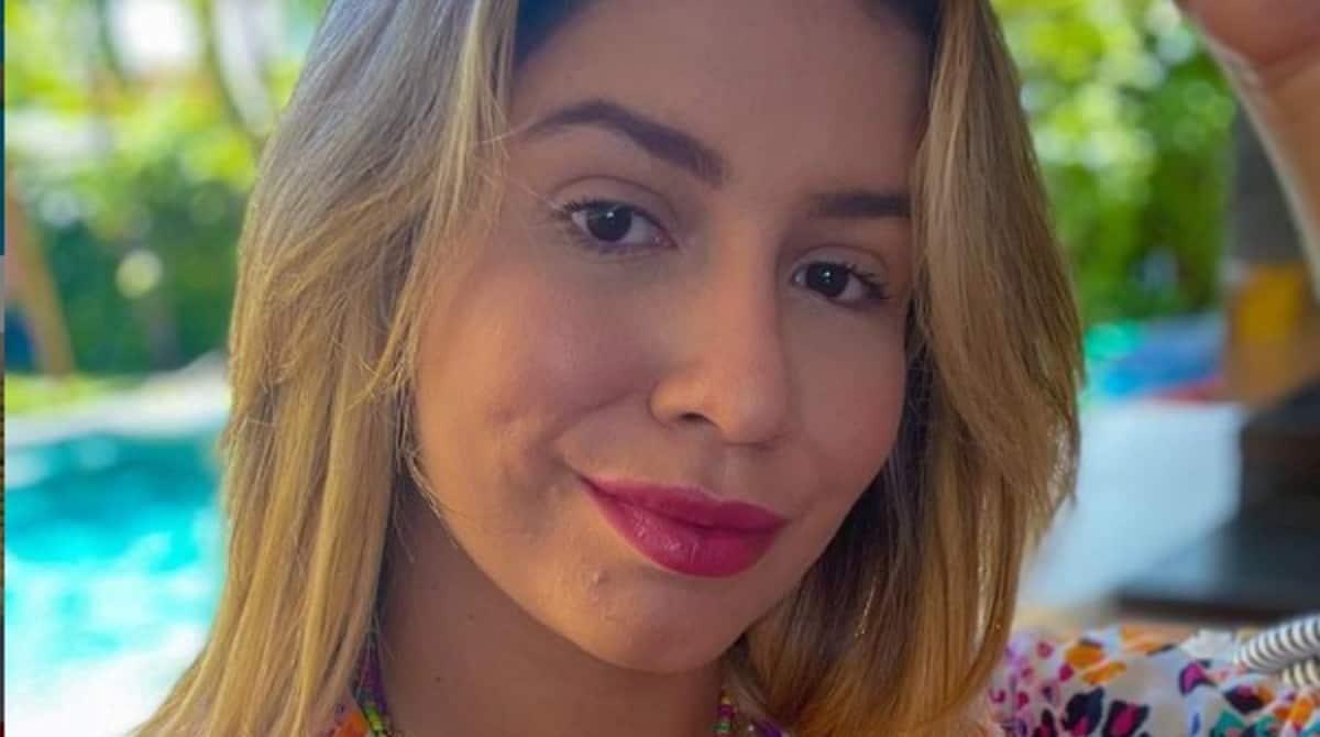 Marília Mendonça relembrou a gravidez com foto sincera