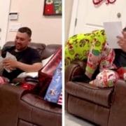 O padrasto foi surpreendido com a notícia da adoção do filho