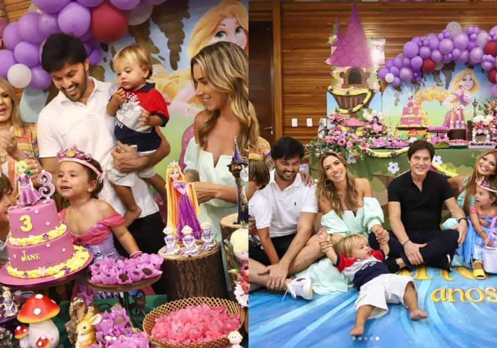 Festa de três anos da bebê da apresentadora Patrícia Abravanel