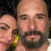 Mel Fronckowiak relembrou quando estava grávida de Rodrigo Santoro