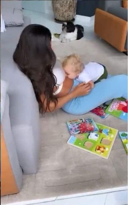 Foto de Andressa Ferreira que levantou suspeita de gravidez