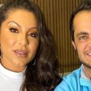 Andressa Ferreira lembrou de quando estava grávida de seu filho com Thammy Miranda