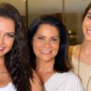 Andressa Suita anunciou que a irmã está grávida