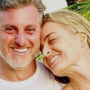 Angélica mostrou a filha mais nova com Luciano Huck
