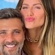 Bruno Gagliasso e Giovanna Ewbank mostraram seu bebê Zyan