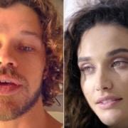 Débora Nascimento e José Loreto mostraram o rosto da filha