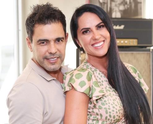 Graciele Lacerda e Zezé levantaram expectativas de uma gravidez