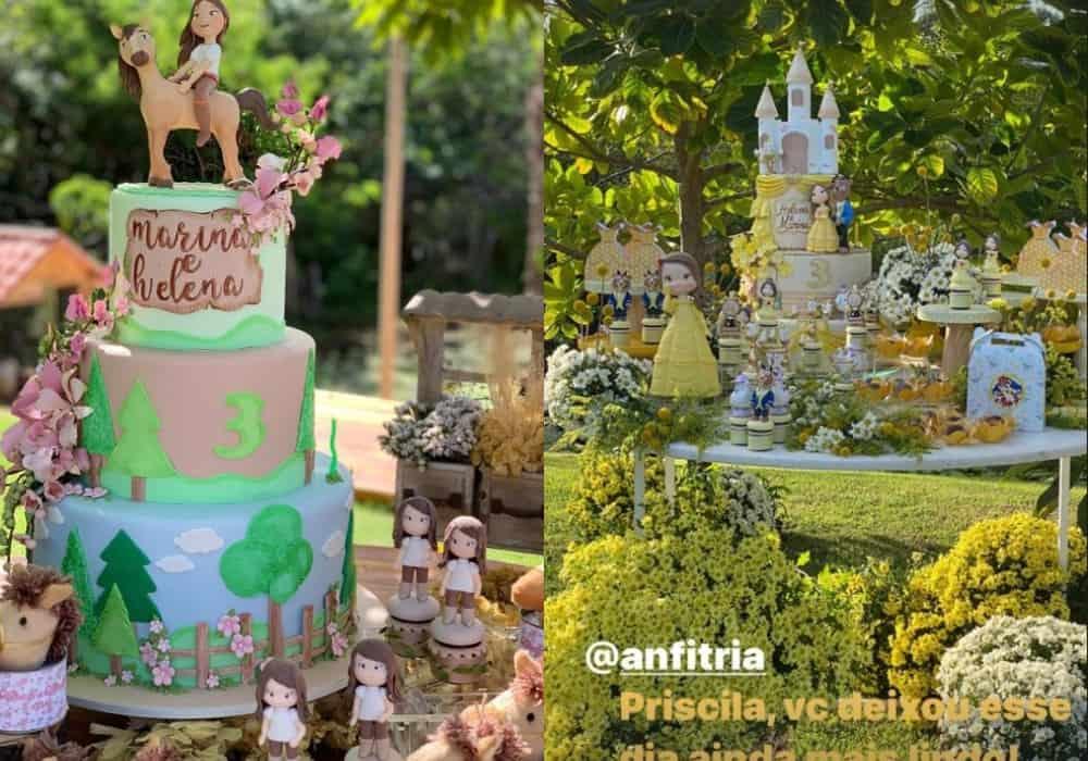 Festa de três anos das gêmeas de Ivete Sangalo