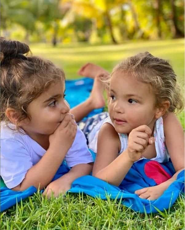 Gêmeas de Ivete Sangalo estão com três anos