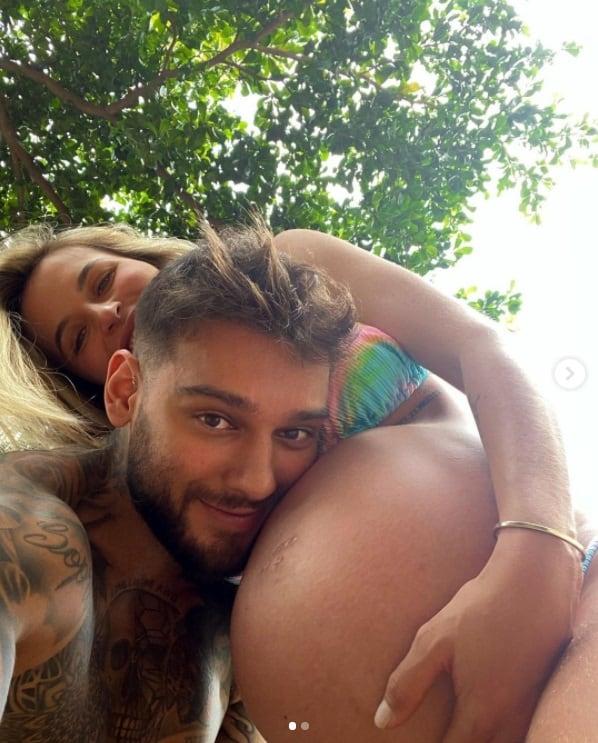 Lucas Lucco e Lorena Carvalho esperando seu filho