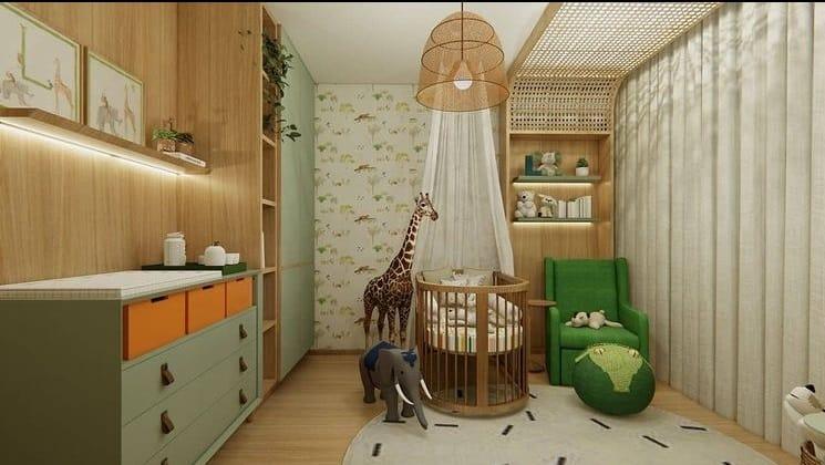 O lindo quarto do filho de Lucas Lucco