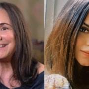 Regina Duarte mostrou a neta que é filha de Talita Younan