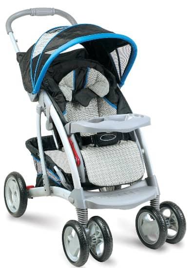 Entre os tipos de carrinho de bebê mais comuns estão os clássicos