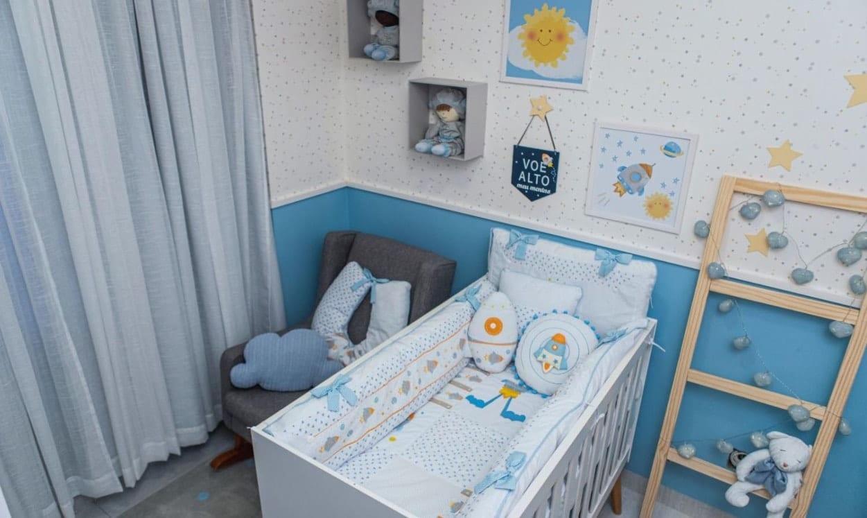 O quarto do menino Matheus, sobrinho de Andressa Suita
