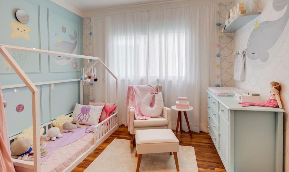Detalhes do quarto da filha de Camilla Camargo