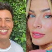 Cauã Reymond mostrou a filha com Grazi Massafera