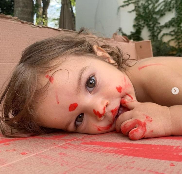 A bebê do ator Chay Suede