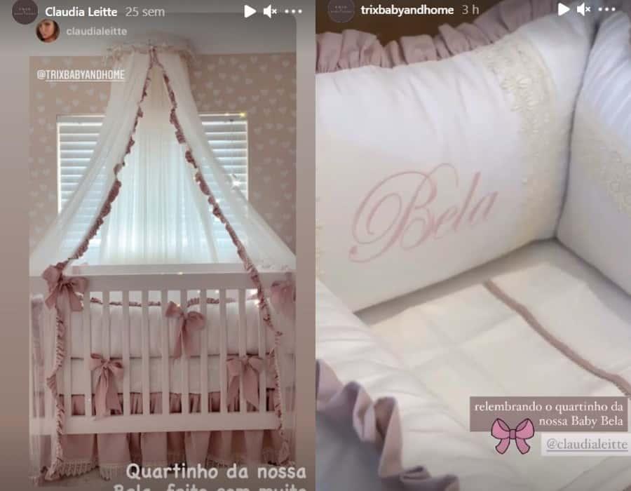 Quarto da bebê de Claudia Leitte na mansão da cantora