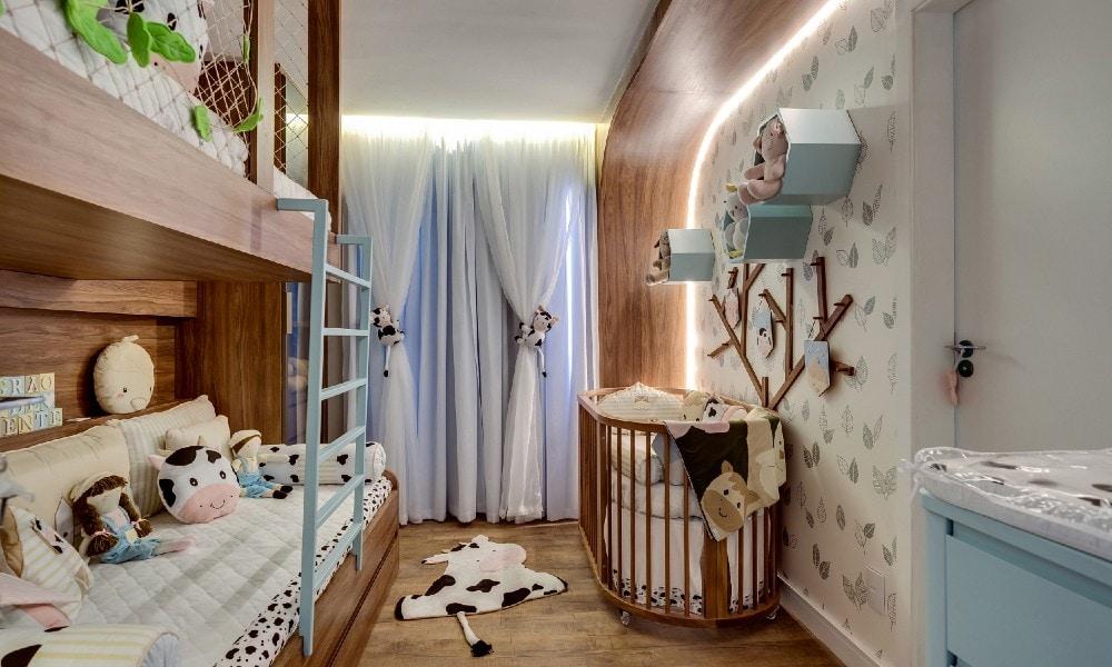 Novo quarto do bebê de Flávia Viana