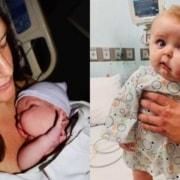 Os pais descobriram a malformação linfática do garoto apenas após o nascimento