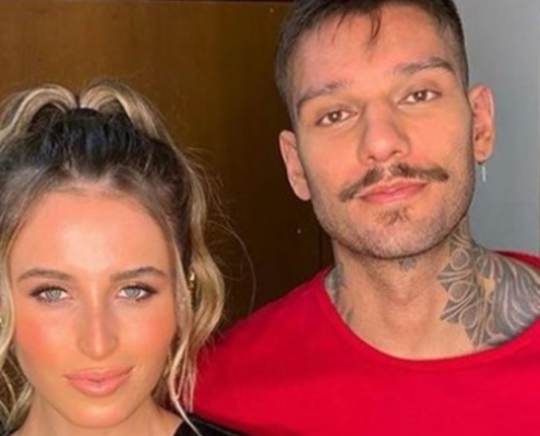 Lorena Carvalho e Lucas Luc