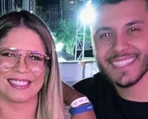 Marília Mendonça e Murilo Huff mostraram o pequeno Léo